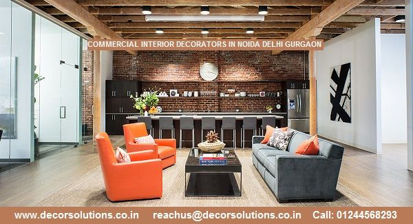 prep your space with commercial interior decorators designers in
