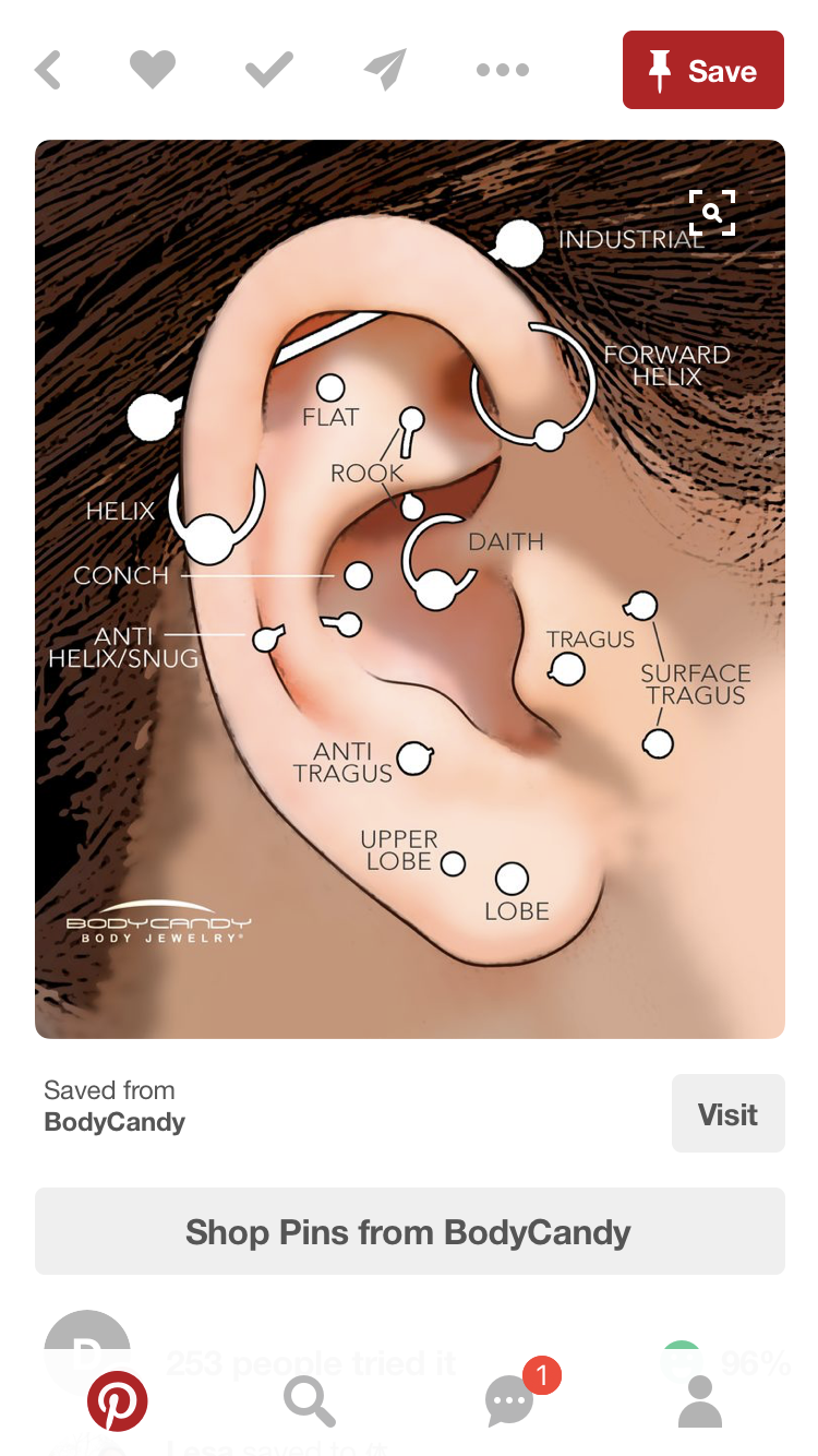different ear piercings diagram power steering parts piercing best wiring library types tragus names upper
