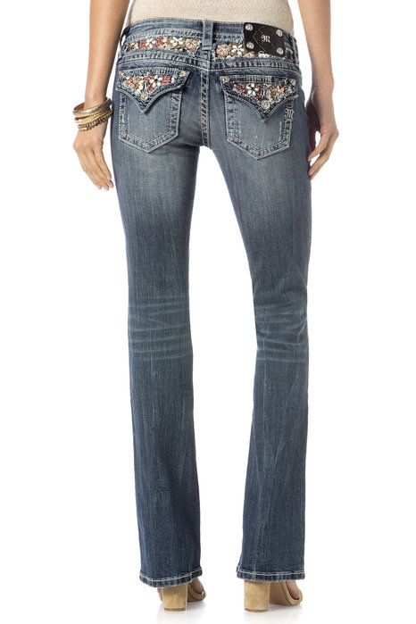 """Check out """"Full Bloom Boot Cut Jeans"""" from Miss Me"""