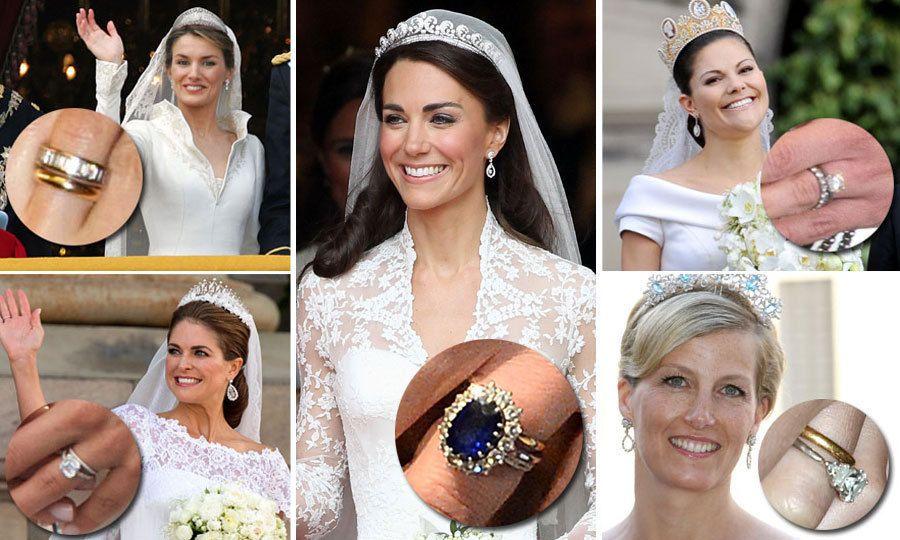 Royal Wedding Rings Kate Middleton Queen Letizia Princess Sofia And More Hello Canada