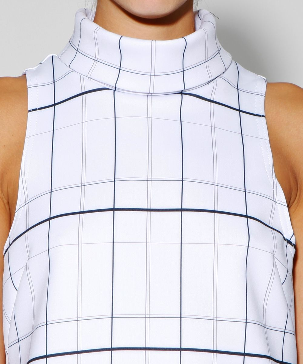 WHITE TARTAN RIVER CITY TOP | Fashion Tops | Tops | Clothing | Shop Womens | General Pants Online