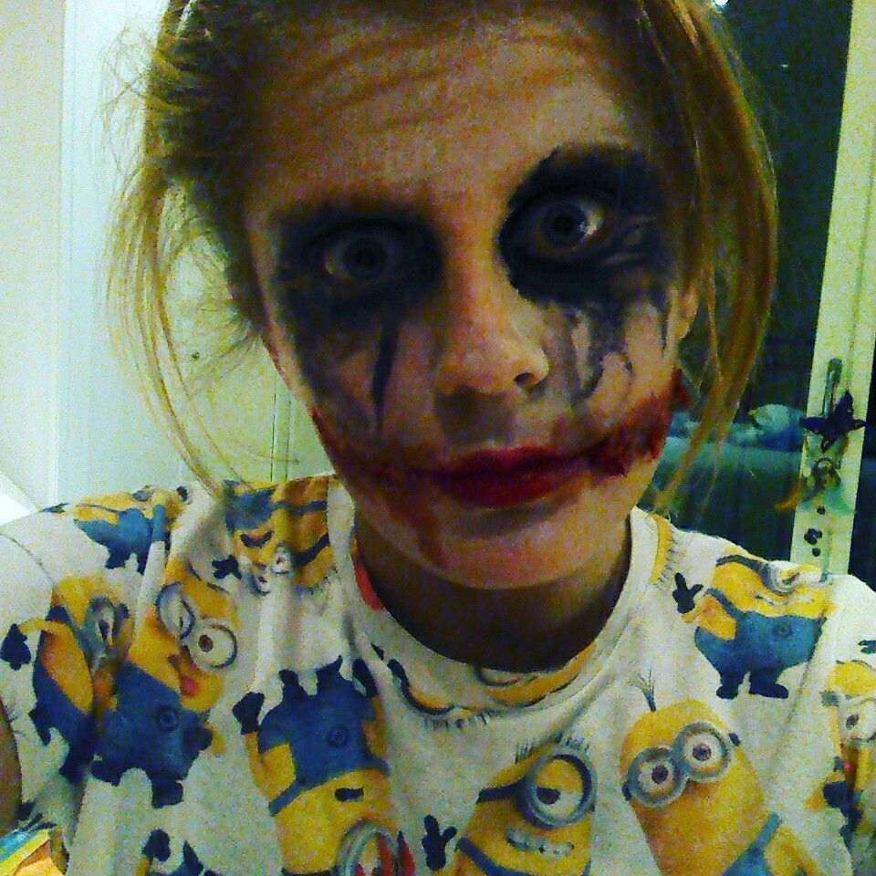 When you look like the joker but you just dont care
