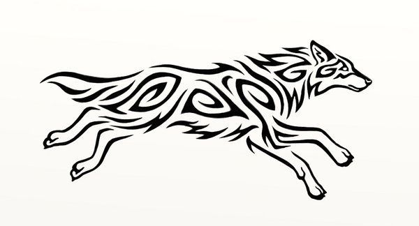 Running Wolf Tattoo Google Search Wolves Pinterest Wolf