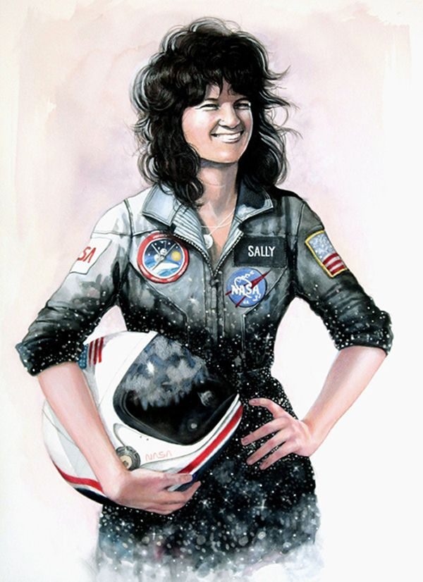 Sally Ride, astronaut, physicist and science educator.In becoming ...