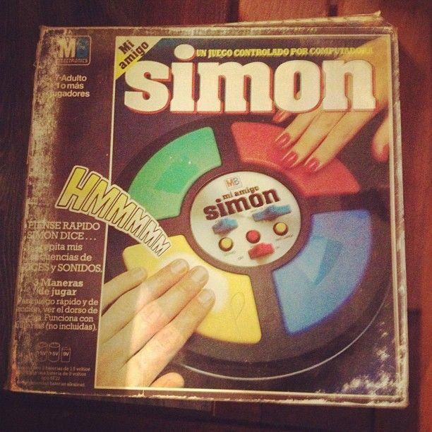 Simon says! #vintage #retro #games