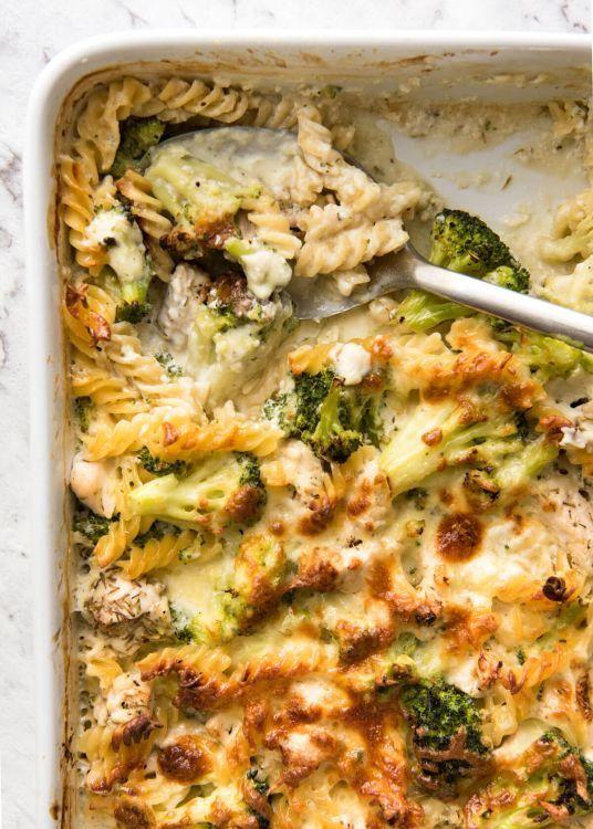 This Is the Easiest One-Pan Chicken & Broccoli Pasta Ever #onepandinnerschicken