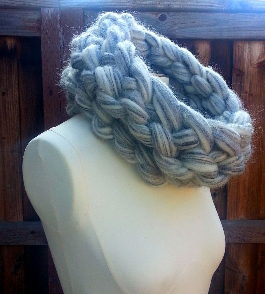 Giant Organic Knit Neck Warmer | Women's Bags & Accessories | I AM...giganticknits | Scoutmob Shoppe | Product Detail