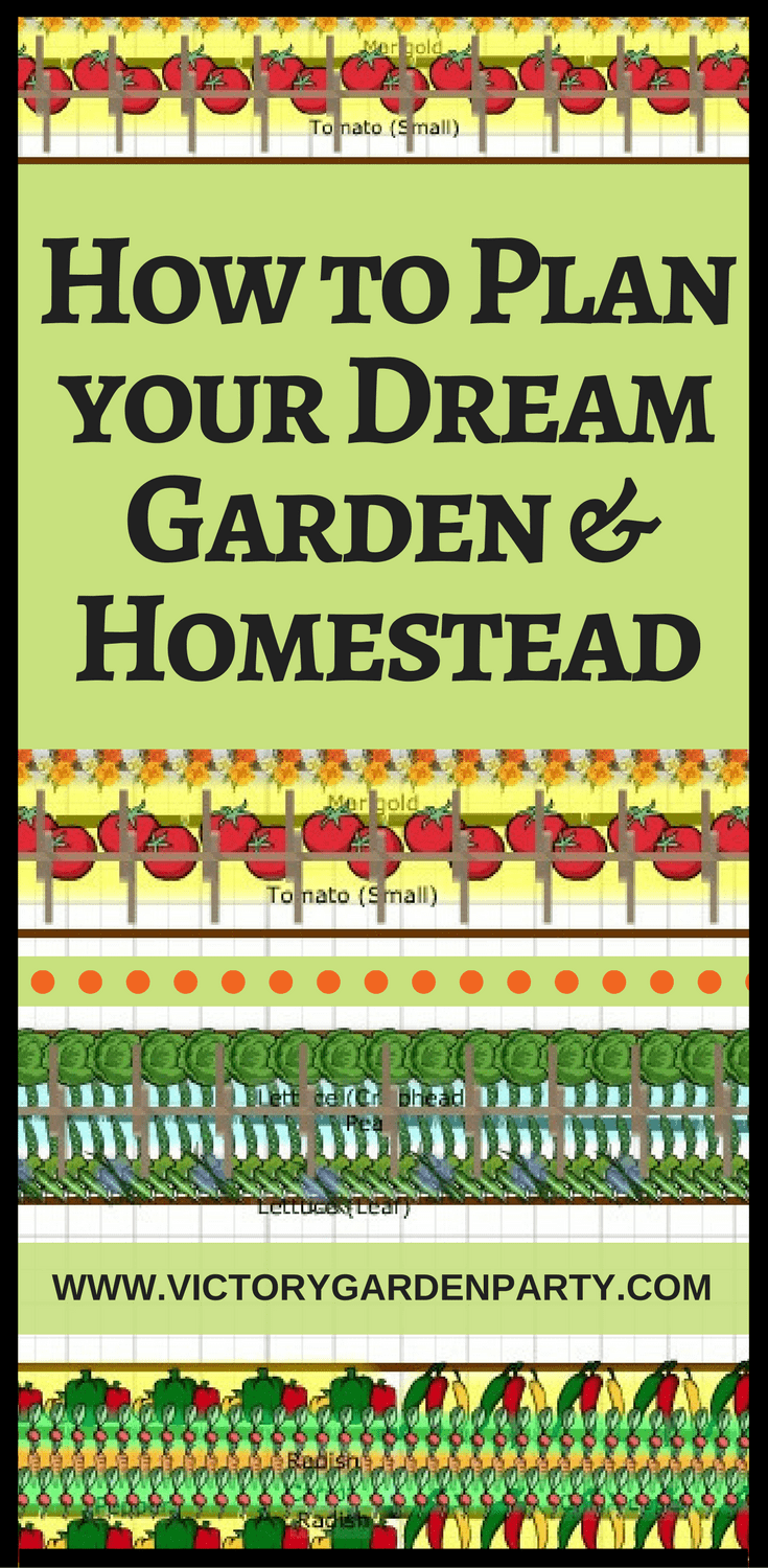 How to Plan your Dream Garden & Homestead | How to plan ...