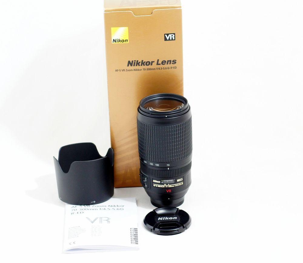 Nikon Nikkor 55 300mm F 4 5 5 6 Dx G Swm Af S Vr A M Ed Hri Lens Ebay Nikon Dx Nikon Nikon D3100