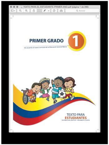 Libro para estudiantes de primer grado ministerio de educacin de libro para estudiantes de primer grado ministerio de educacin de ecuador fandeluxe Images