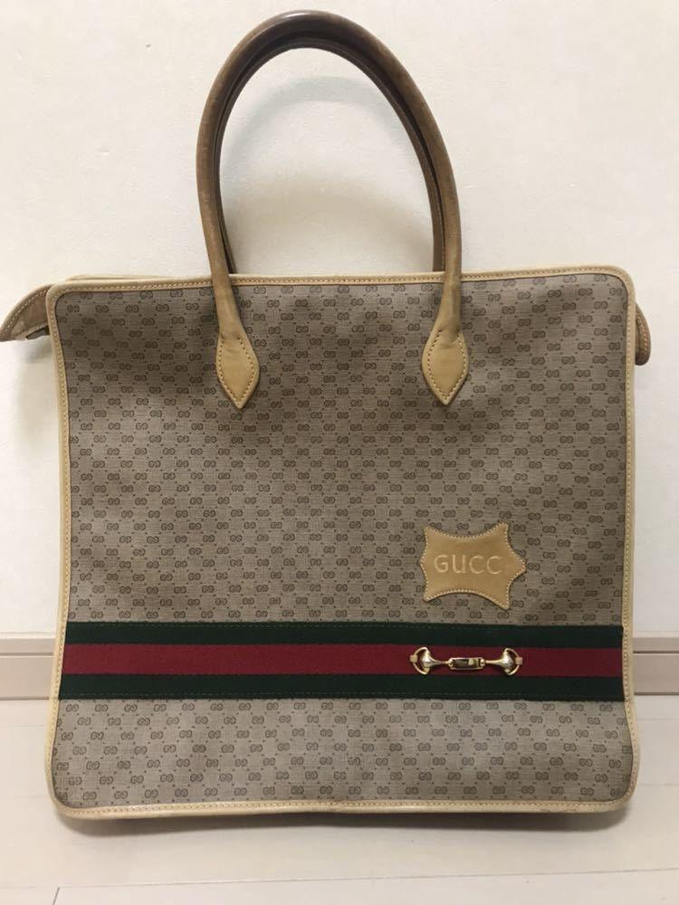 c662724bef7 Rare Gucci horsebit shopper bag tote satchel in 2019