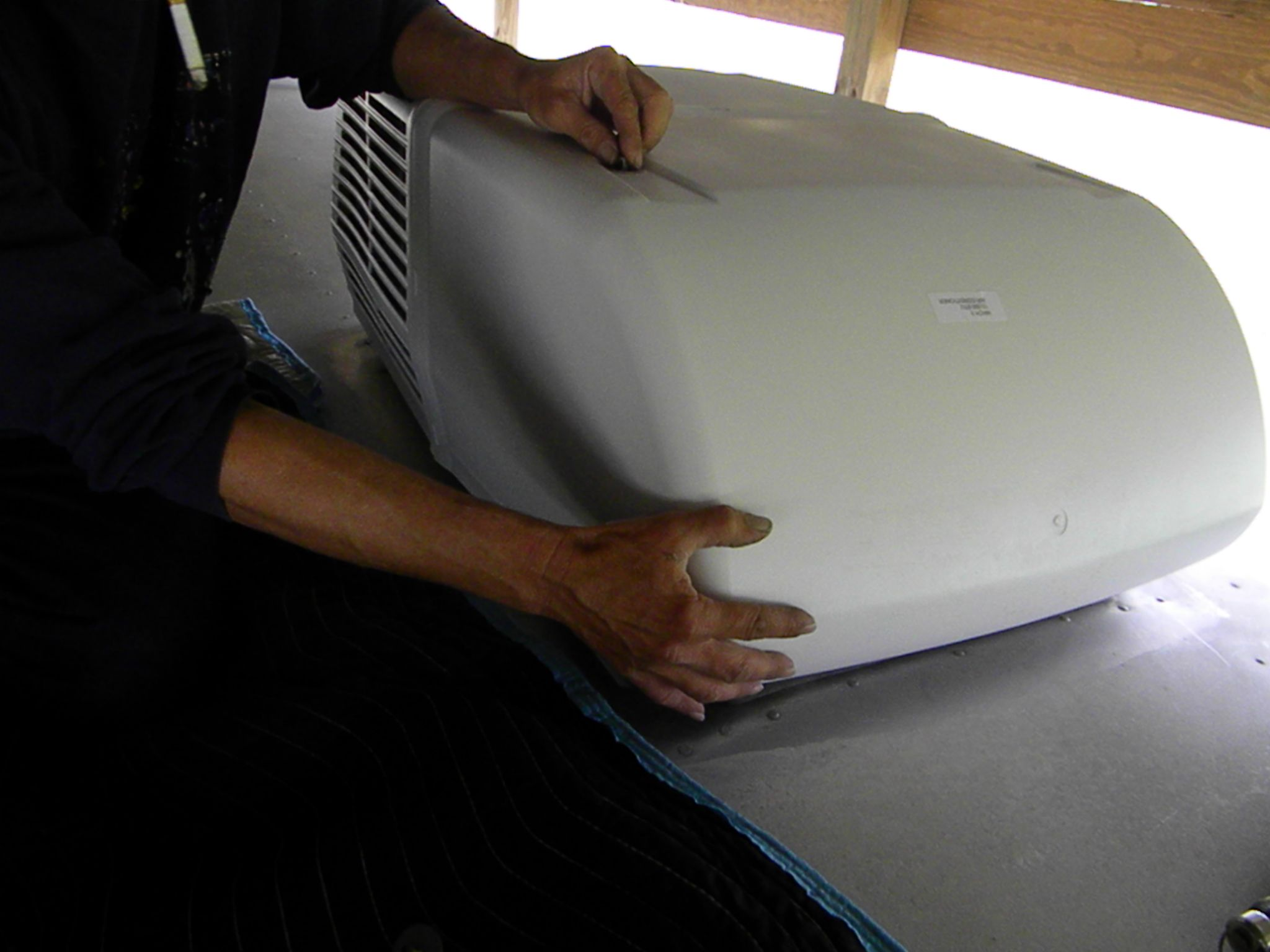 How to Install a Coleman RV Rooftop Air Conditioner