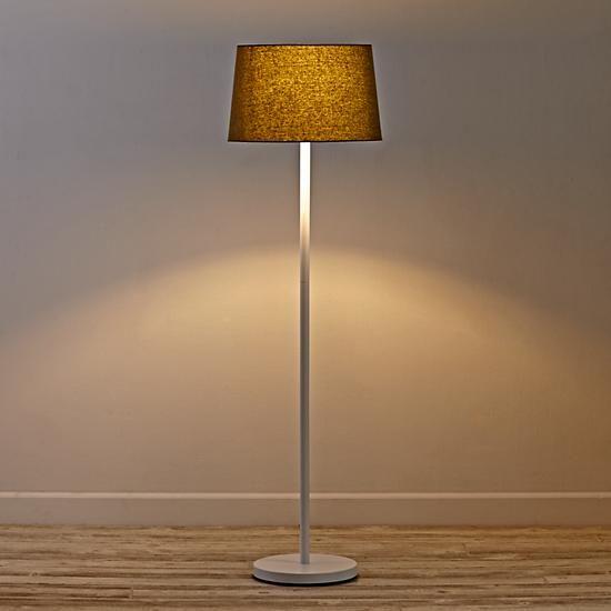 Light Years Floor Lamp Base (Graphite) | The Land of Nod | boys room ...