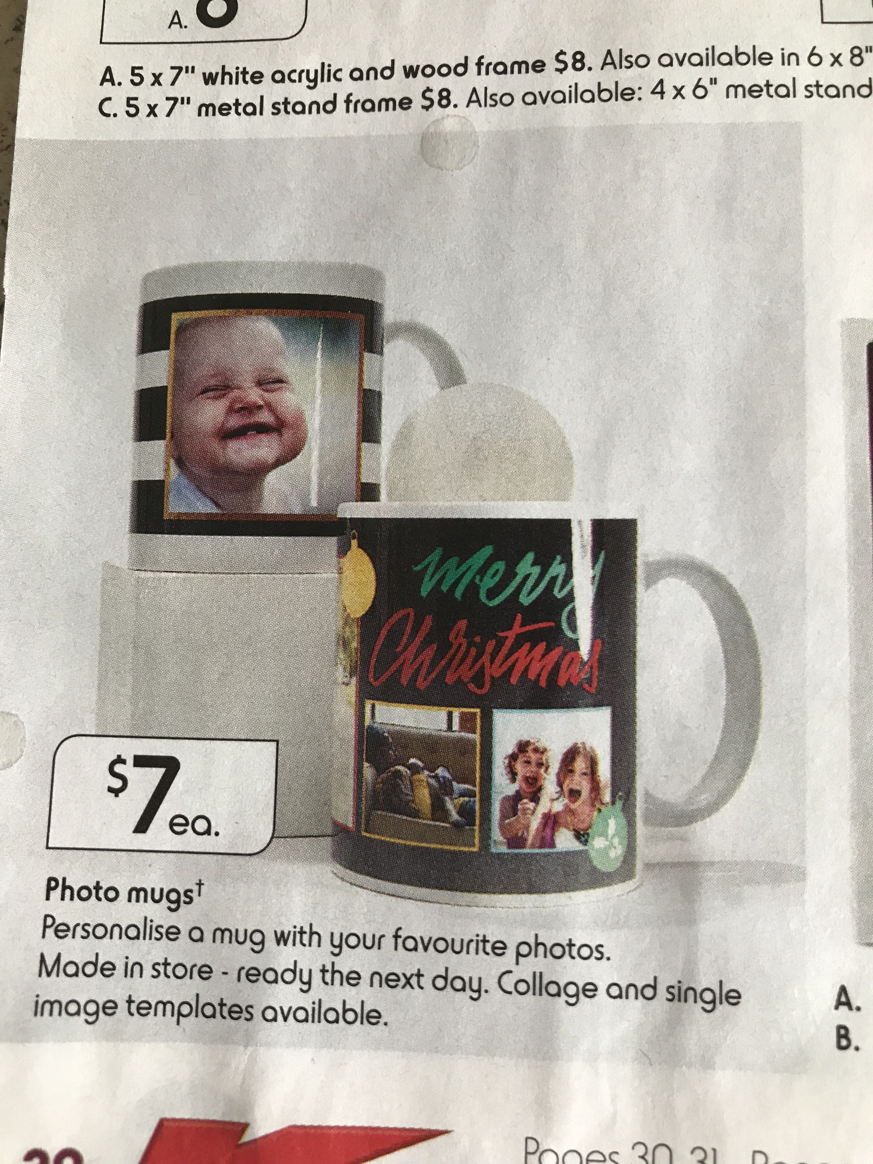 Kmart November Catalogue 2017 Wood Frame Mugs How To Make