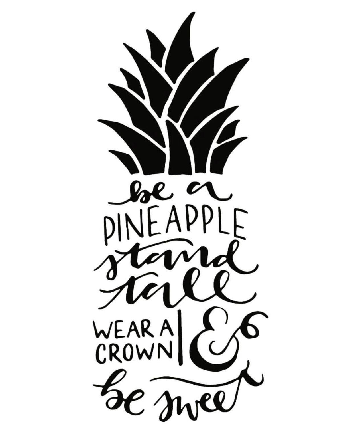 Be A Pineapple FRUIT u VEG Pinterest