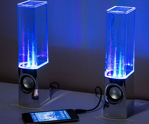 Lava Lamp Speakers Prepossessing Light Show Fountain Speakers  Comprar Design Ideas