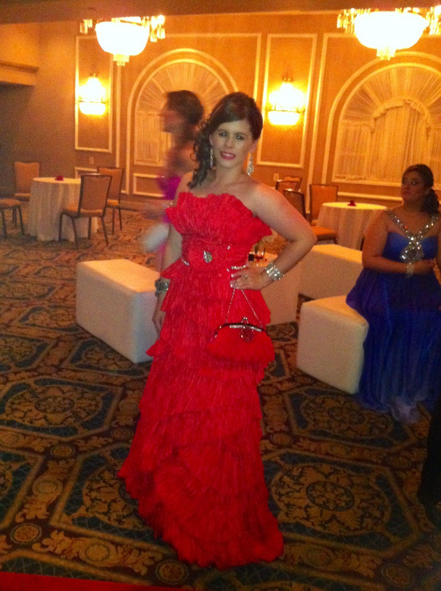 My prom dress hollywood style by carmen chirrino trajes