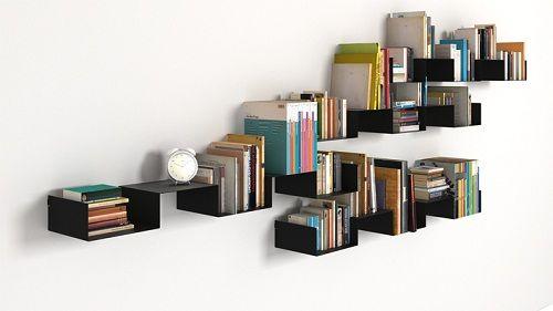 Minimalist Bookshelf Designs & Minimalist Bookshelf Designs | home ideas | Pinterest | Shelves ...