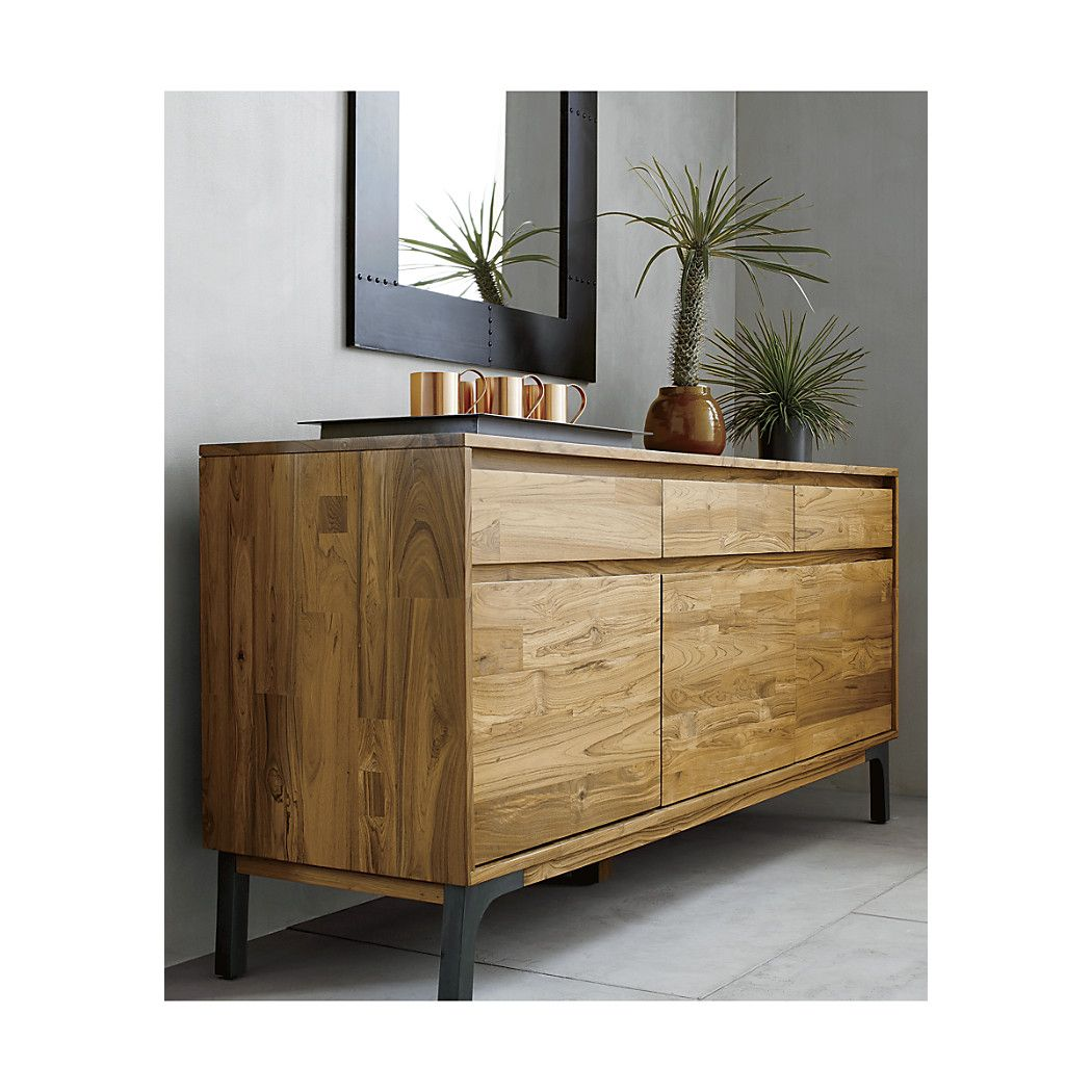 Lakin Recycled Teak Sideboard | Shops, Teak und Crate and Barrel