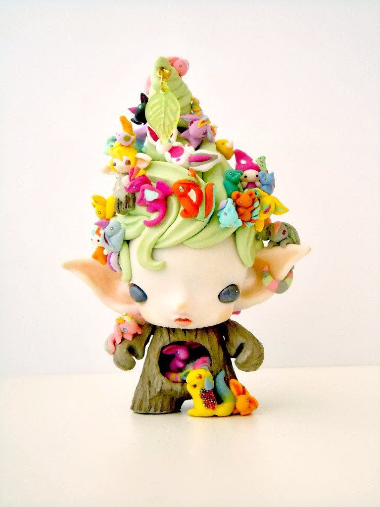 Mijbil Creatures | Micro Munny Woodland Spirit | Online Store Powered by Storenvy