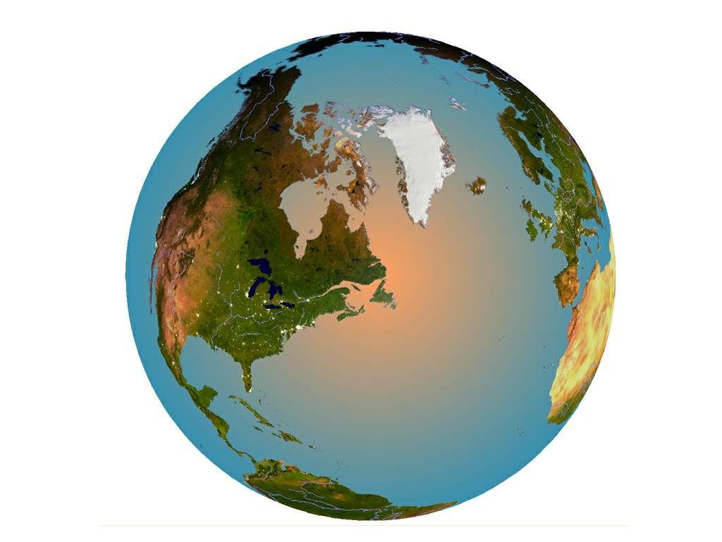 International Foods International Recipes 3d Globe Christmas Bulbs