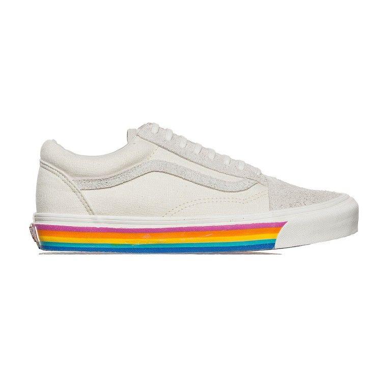 vans old skool rainbow