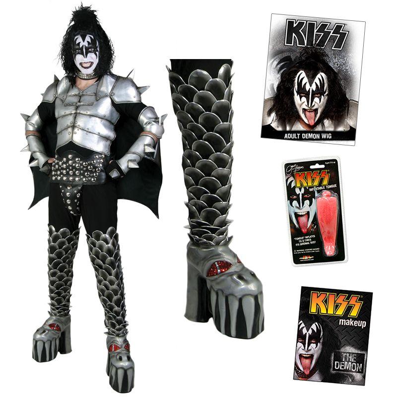 Kiss Demon Makeup: KISS Gene Demon COMPLETE DESTROYER Costume