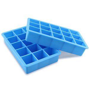 Amazon Com Topoint Silicon Ice Cube Tray Fda Food Grade Ice Trays Molds Make Perfect Ice Cubes Keep Your Silicone Ice Cube Tray Ice Tray Mold Ice Cube Trays