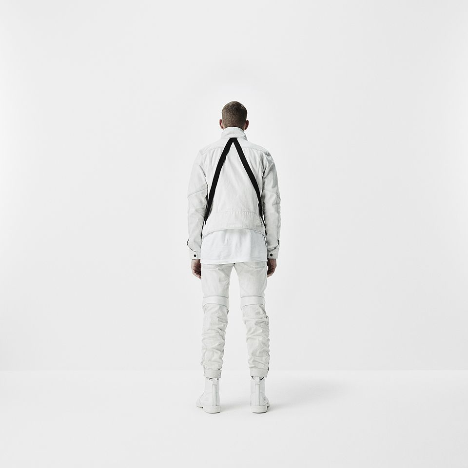 G-Star RAW Research is G-Star's internal innovation and experimentation lab. Here's your first look at the premier collection designed with Aitor Throup.