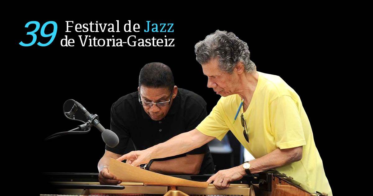 Herbie Hancock & Chick Corea Duo, Estrella Morente, Brad Mehldau, Dave Holland, Chris Potter y Anat Cohen entre otros en la 39 Edición del Festival de Jazz de Vitoria-Gasteiz que tendrá lugar entre los días 13 y 19 de Julio de 2015