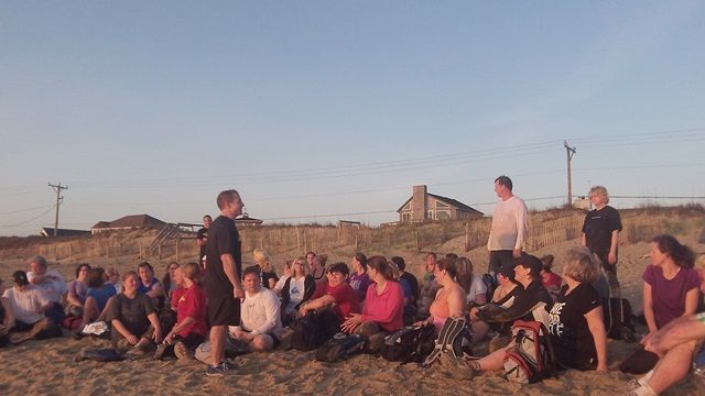 Congratulations to the new recruits at Outer Banks Bootcamp Plus -