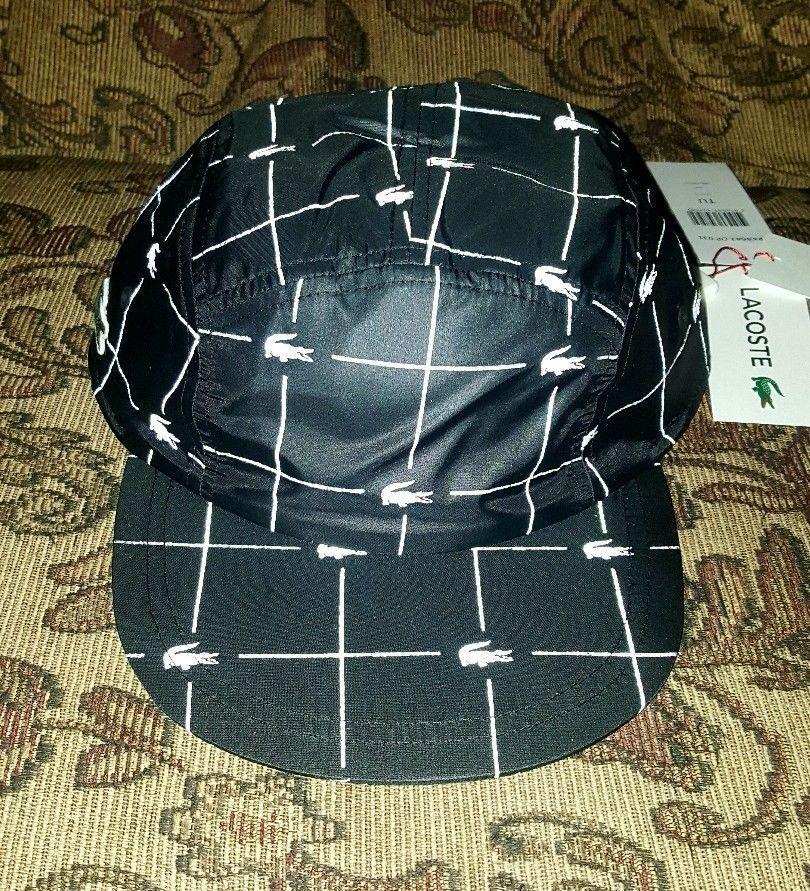 Grid Cap Handlacoste Black Ss18 Camp Supreme In Reflective Lacoste MUpzVqS