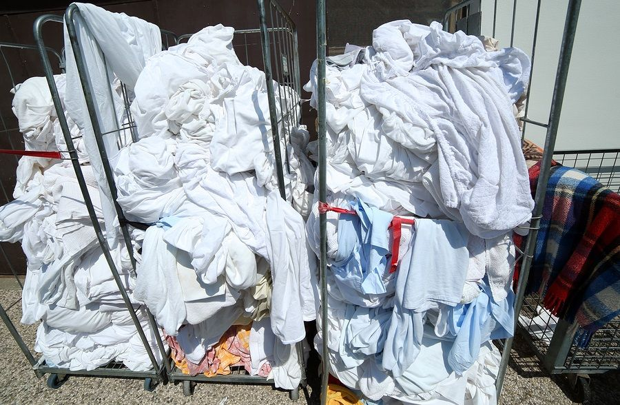 How Much Laundry Is Too Much Laundry With Images Linen