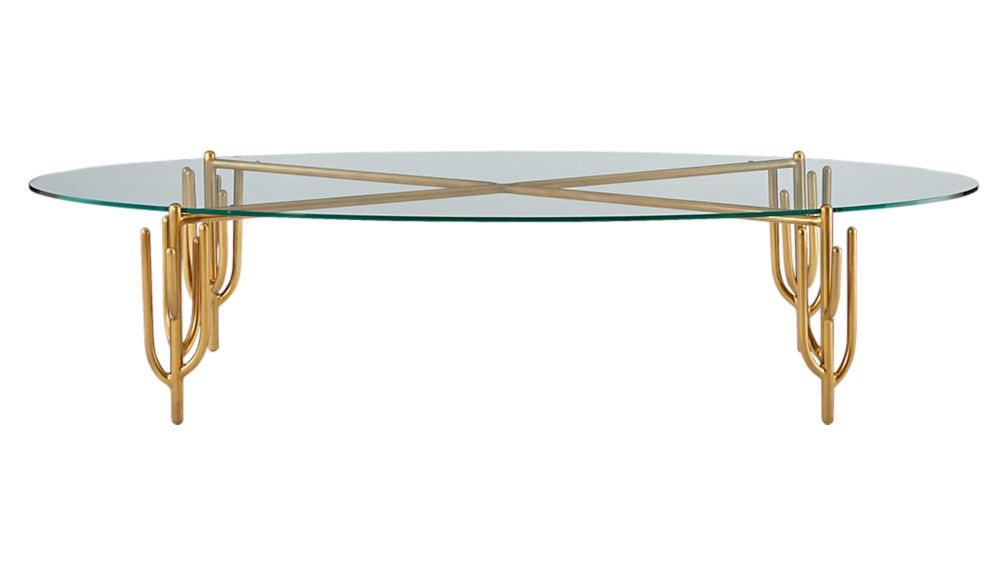 Cacti Brass Coffee Table Sold Out In 2019 Brass Coffee Table