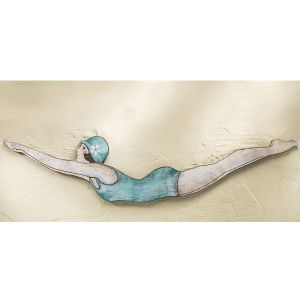 Bathing Beauty Wall Art Furniture Home Decor And Home Furnishings Home Accessories And Gifts Expressions Art Furniture Vintage Swimmer Wall Art