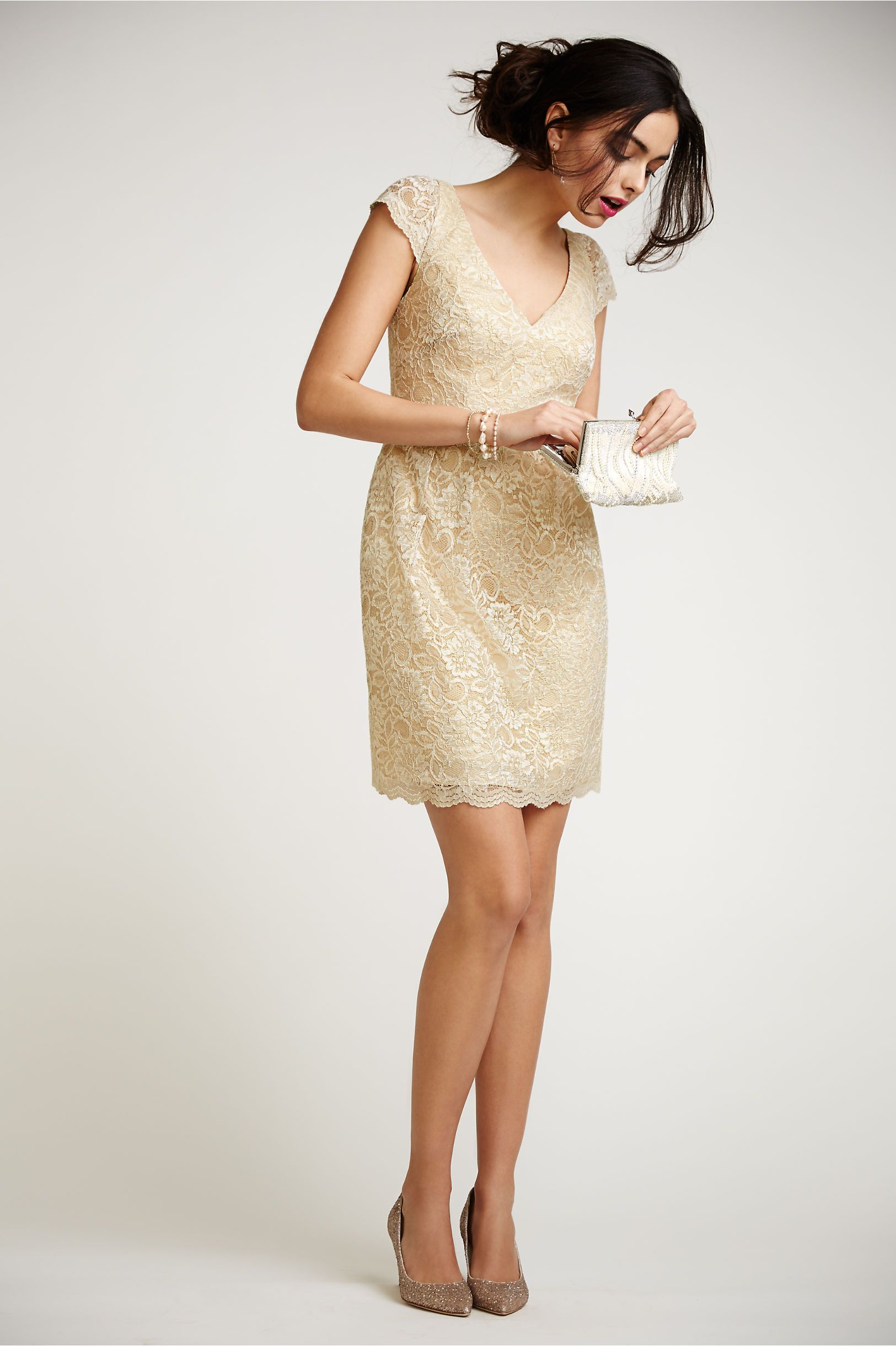 Beckett Dress in soft gold from @BHLDN | City Hall & Courthouse ...