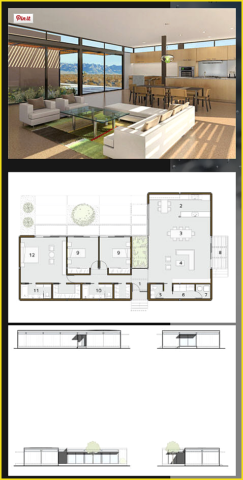 L Geformter Grundriss L Geformter Grundriss Sie Sind An Der R Modern Bungalow House House Plans New House Plans
