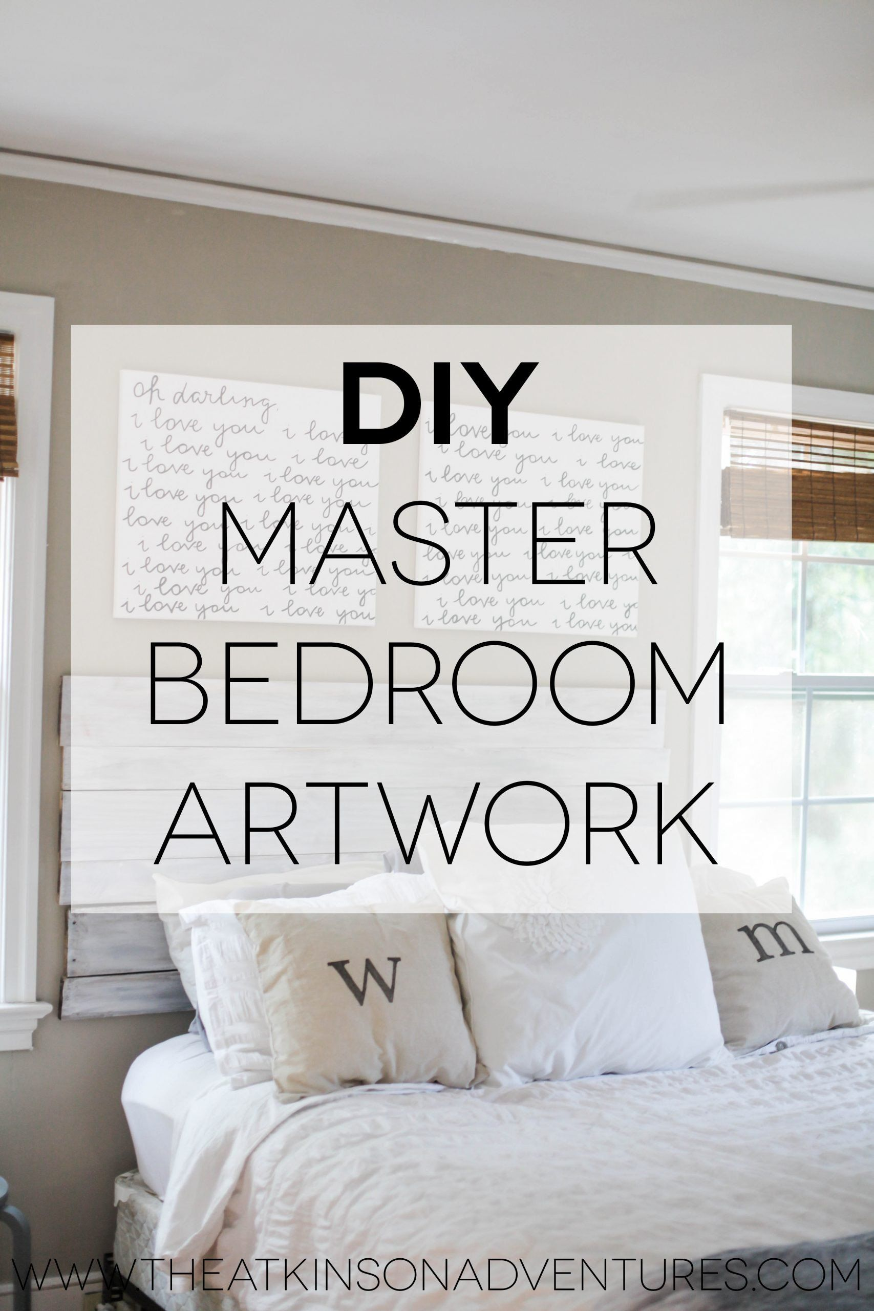 Bedrooms Wall Decor Ideas Diy Bedroom Wall Decorating Ideas Pinterest Decor For Girl In 2020 Master Bedroom Wall Decor Master Bedroom Diy Master Bedroom Artwork