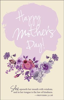 Wisdom Proverbs 3126 Mothers Day Bulletins 100