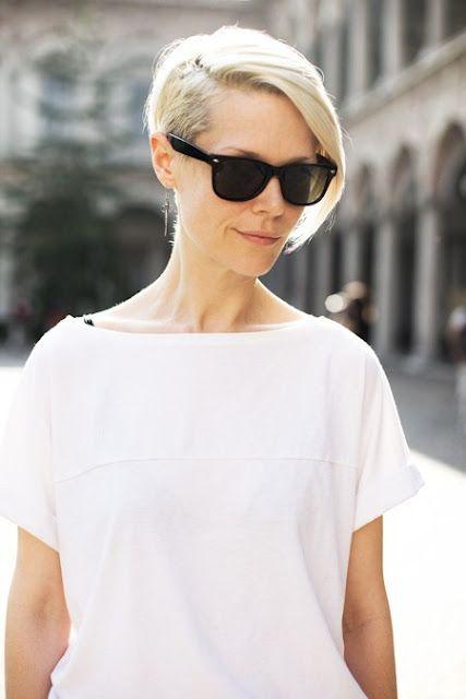 Kate Lanphear -  Corte de pelo corto/Short haircut ! Love it I'm going my hair into this!!