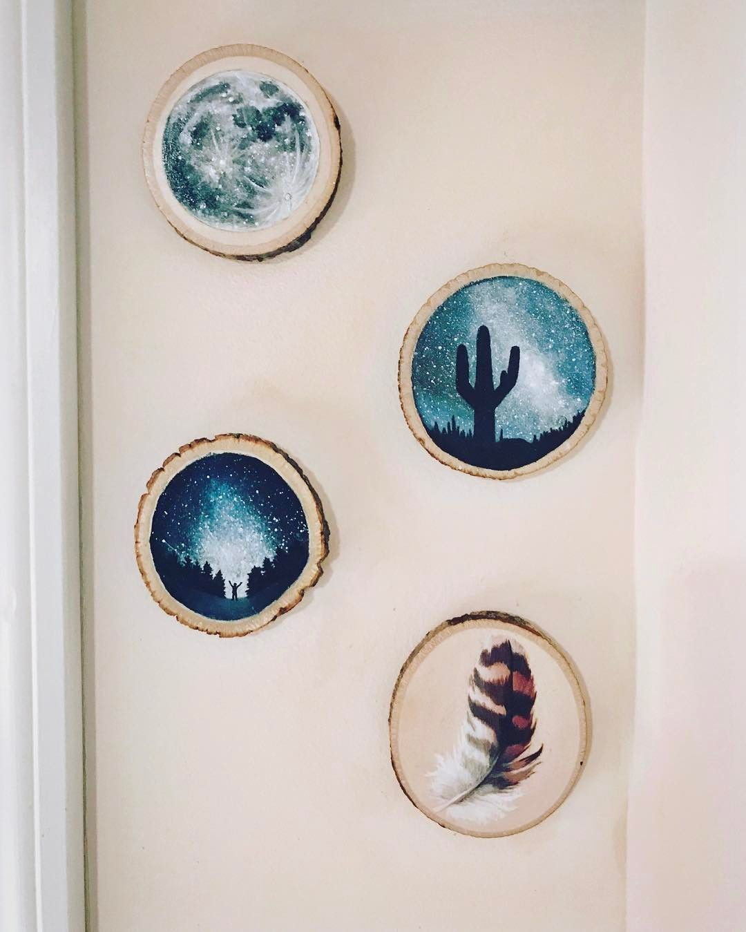 The Amount Of Detail In These Small Wood Slices Blows Us Away Which