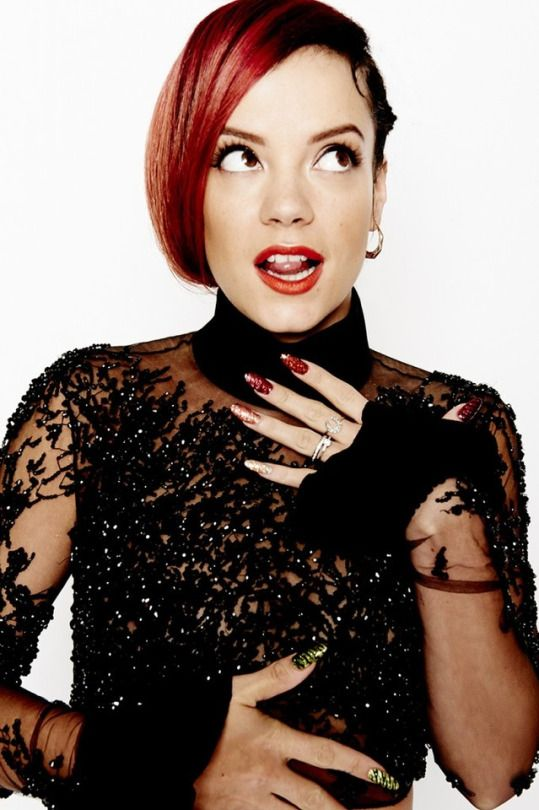 Lily Allen: New Radio Times photoshoot outtake