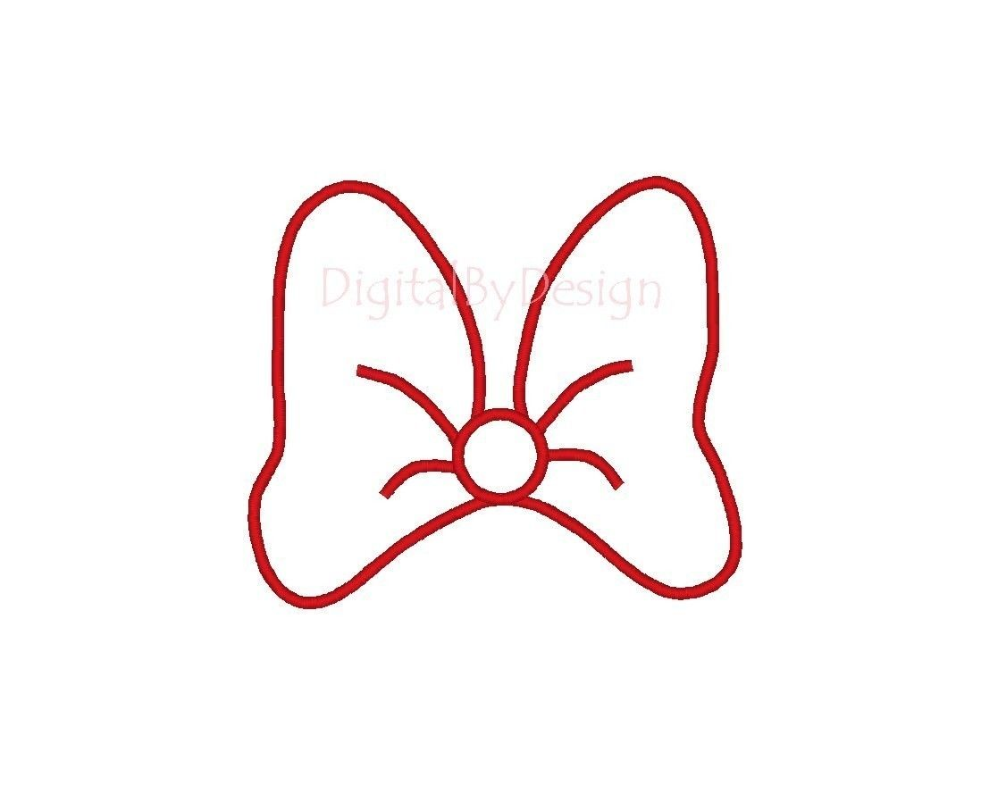 Bow pattern for invitations and banner kynleigh 39 s bday for Free printable minnie mouse bow template