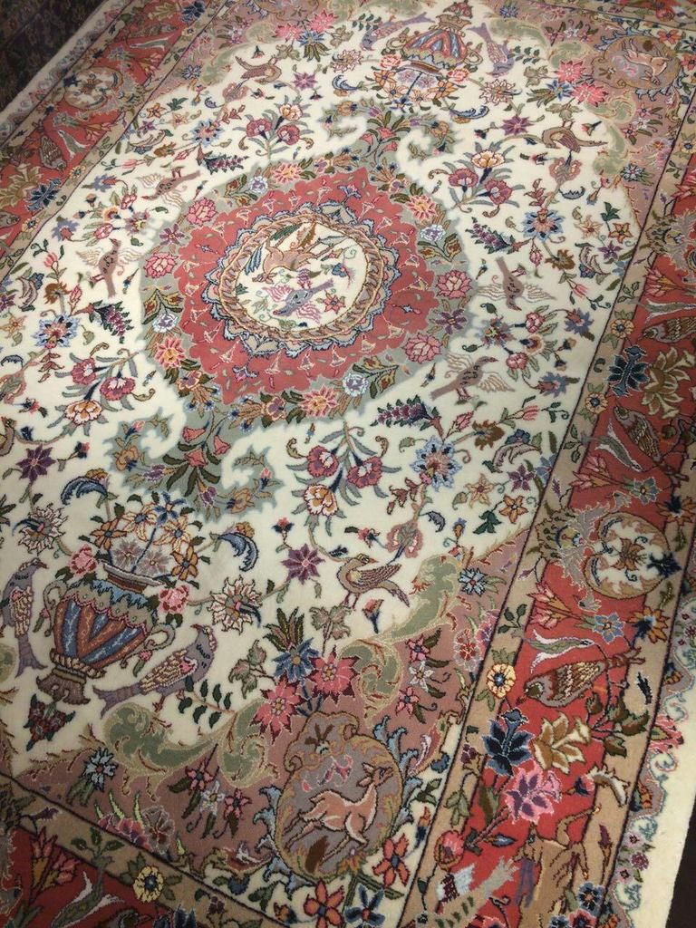 Hand Woven Persian Rug 3x2 M Kashmar