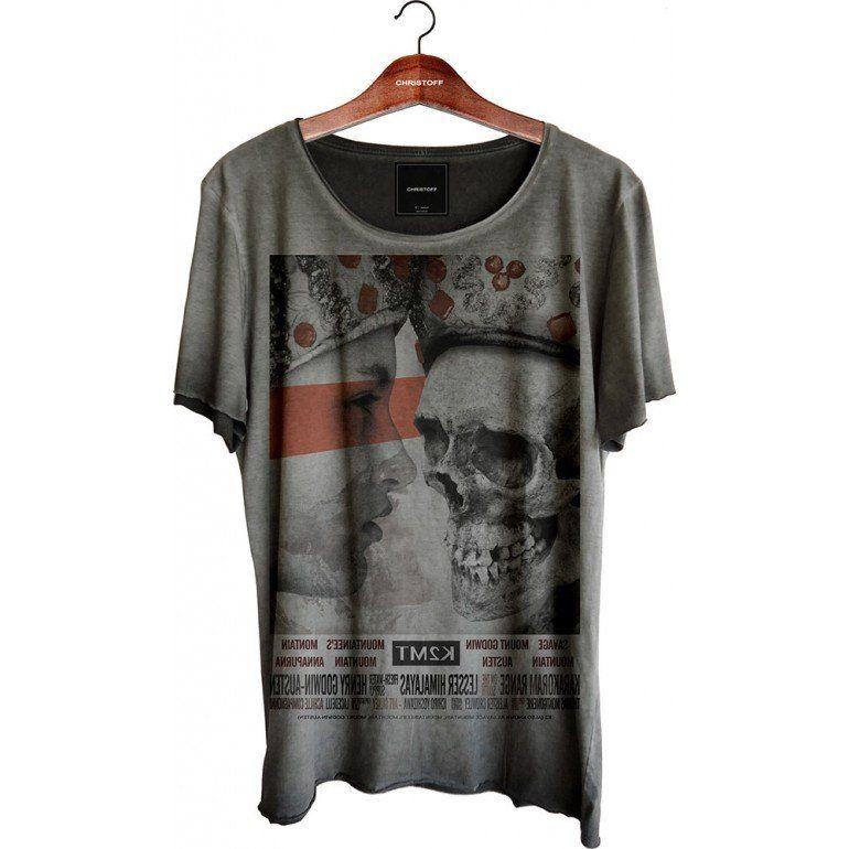 Camiseta Relax - Skull Mountain