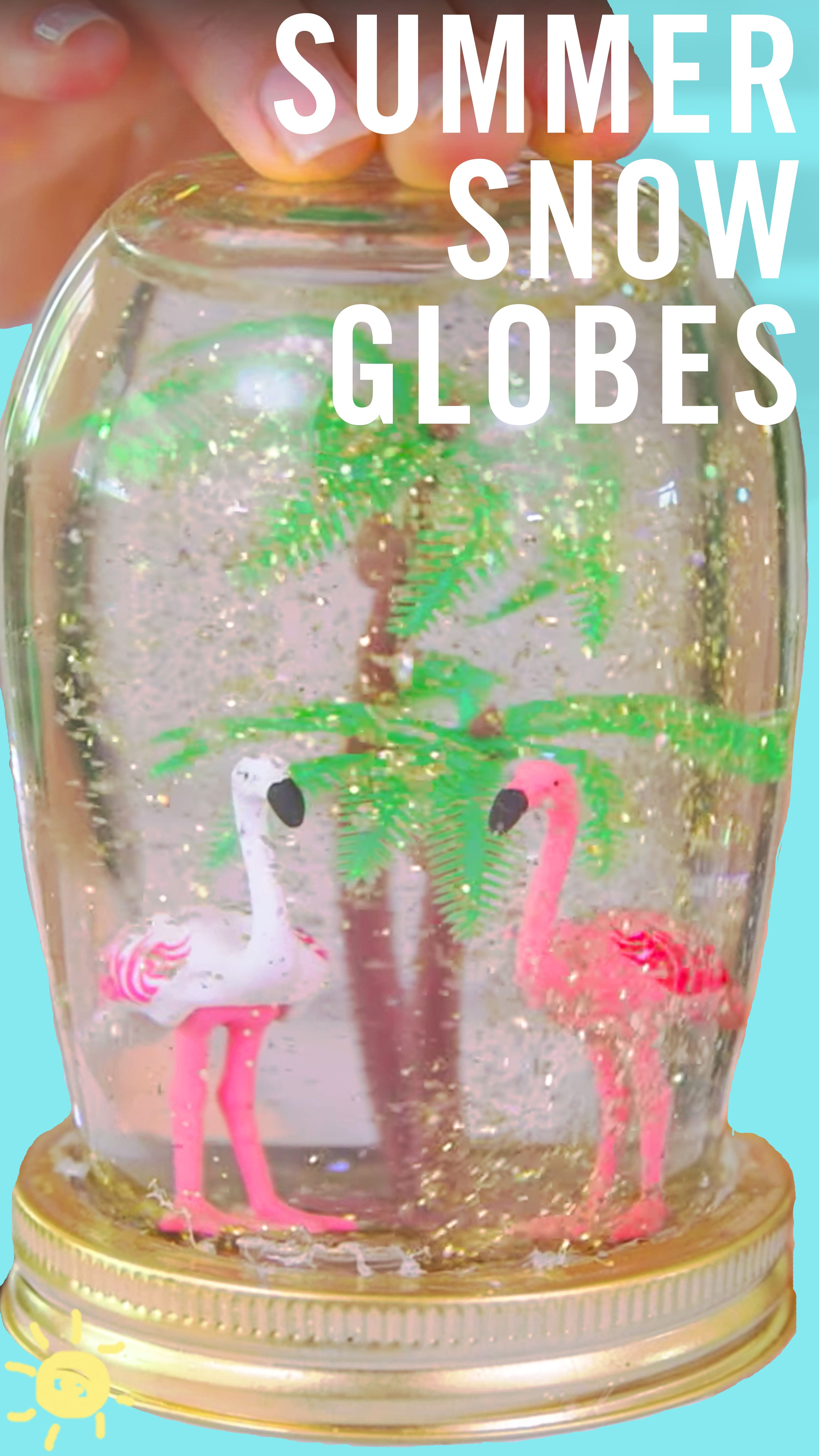 Why Should Winter Get All The Fun These Summer Snow Globes Are A