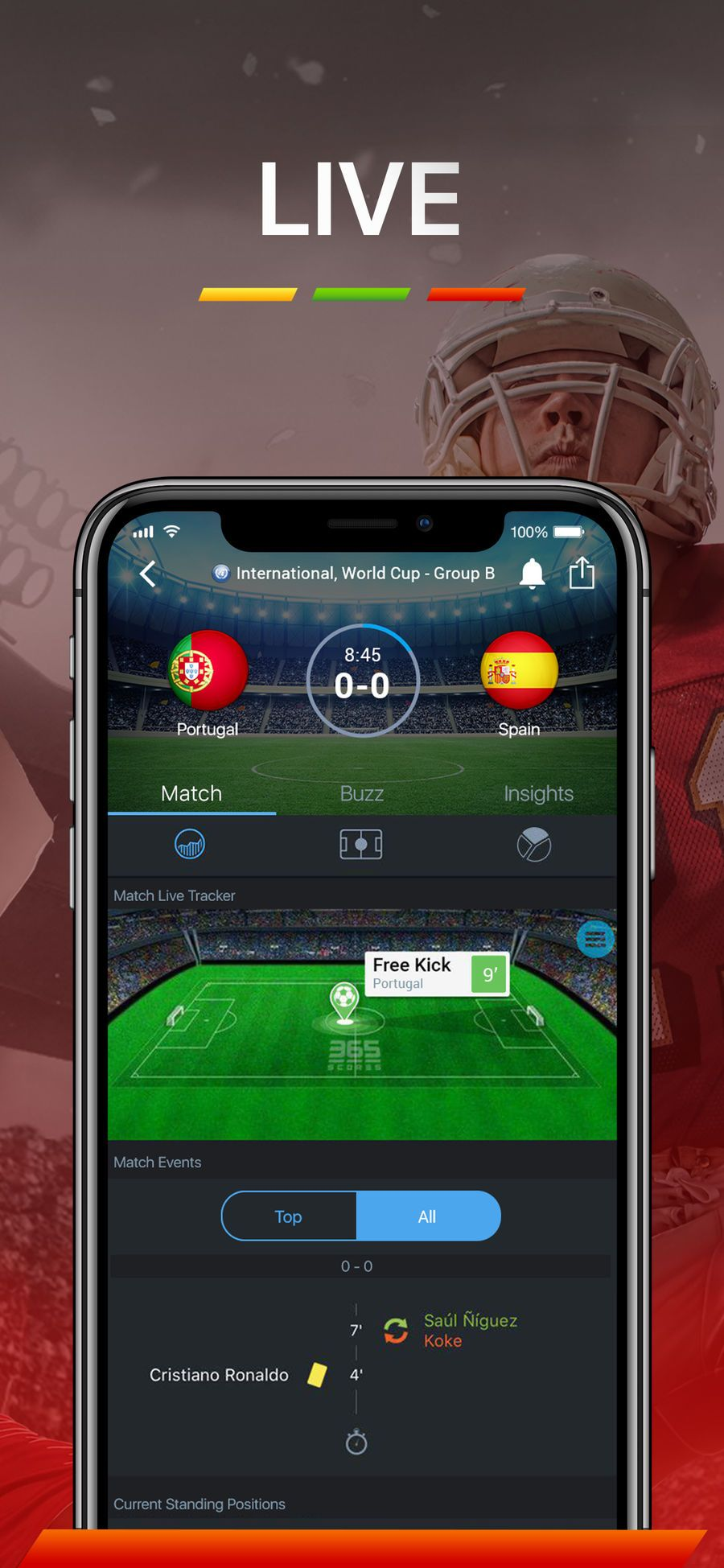 365Scores Live Score NewsSportsappsios (With images