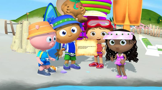 File Beach Attire Png Pbs Kids Super Why Mario Characters