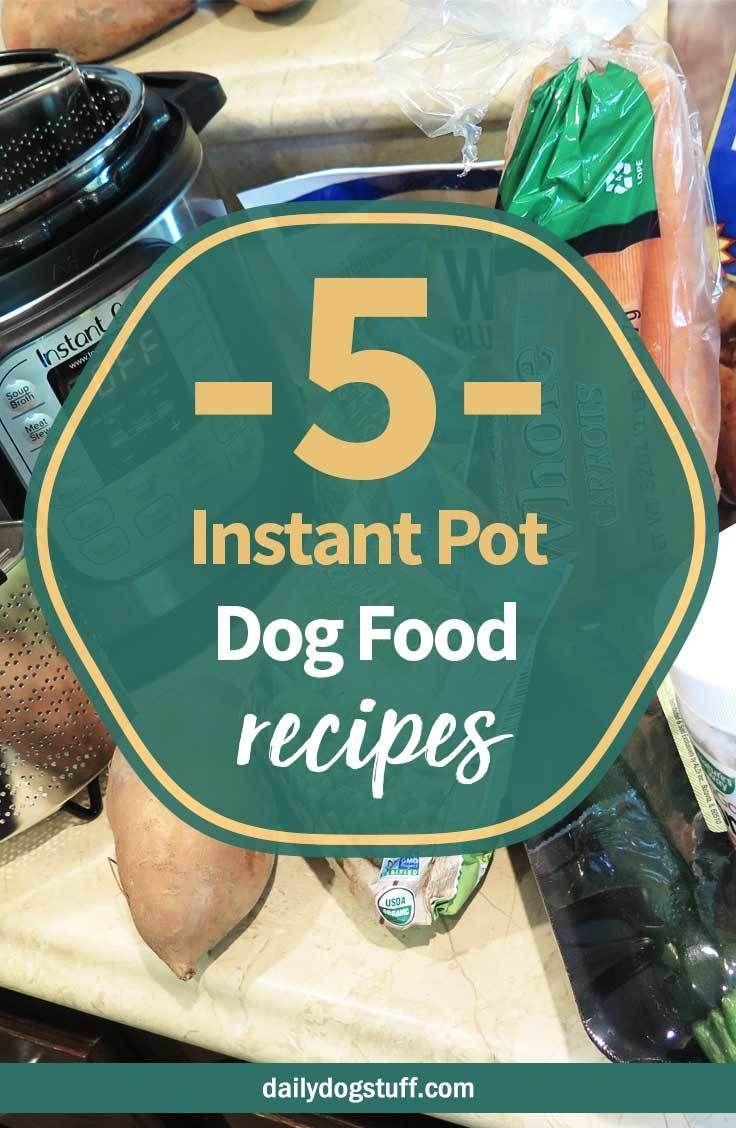 Diy instant pot dog food 5 easy recipes dog food