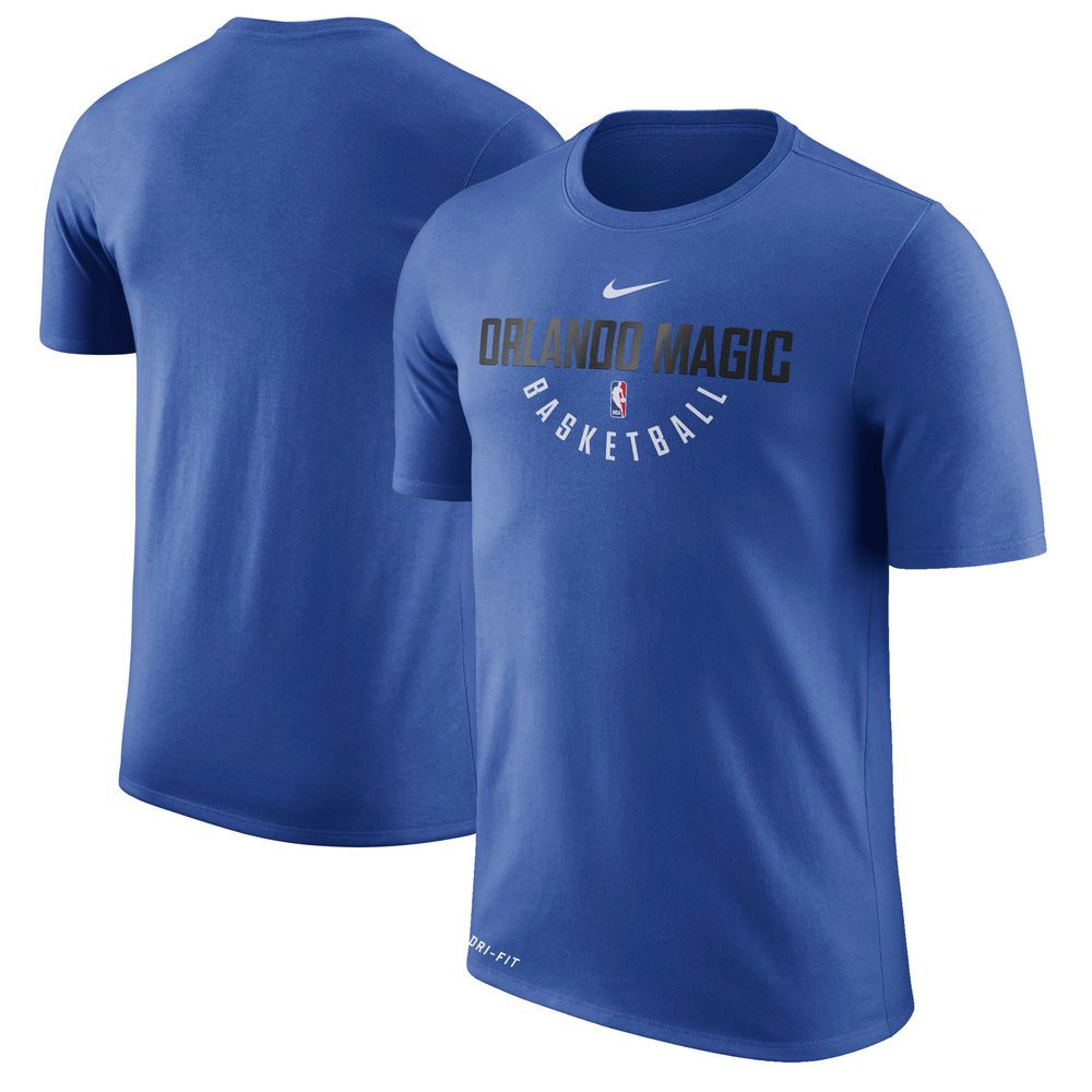 6a5500e3d Orlando Magic Nike Practice Performance T-Shirt – Blue